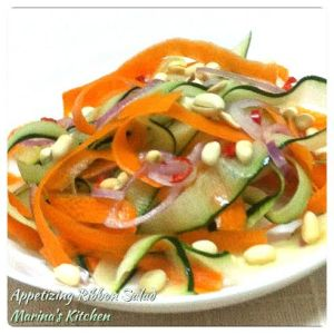 Appetizing Ribbon Salad