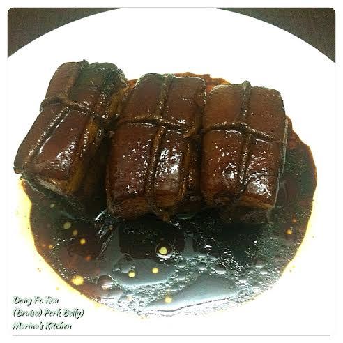 Braised Pork Belly (Dong Po Rou) | Marina's Kitchen