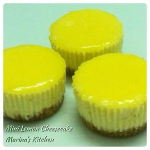 Mini Lemon Cheesecake
