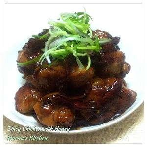 Spicy Chicken with Honey