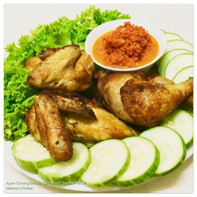 ayam-goreng-bumbu-kuning-with-sambal-terasi
