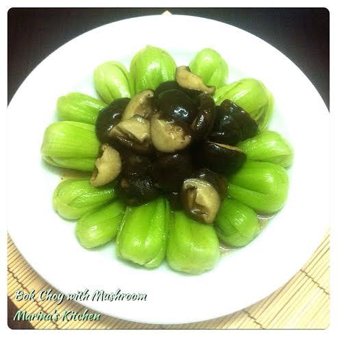 Bok Choy with Mushroom