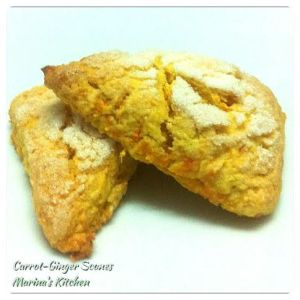 Carrot-Ginger Scones