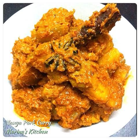Nonya Pork Curry