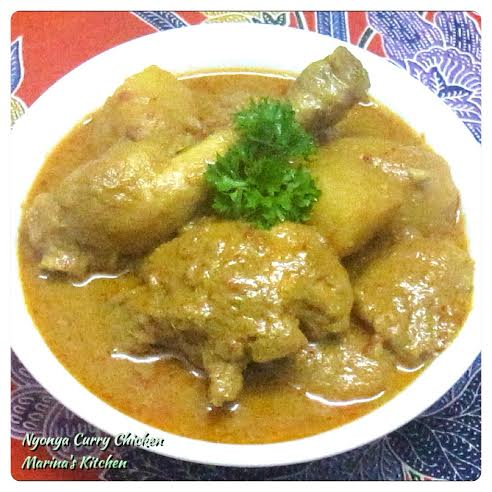 Nyonya Curry Chicken 2