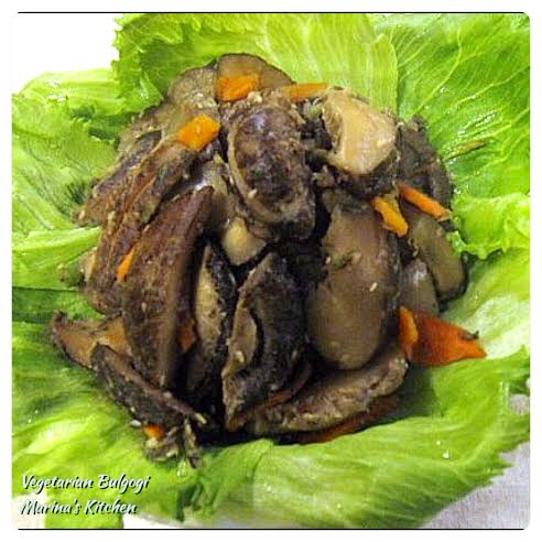 Vegetarian Bulgogi