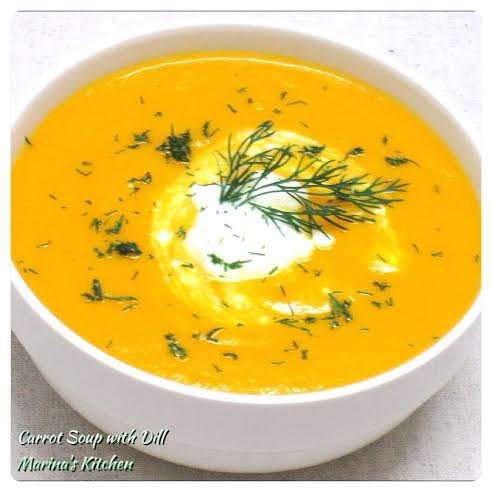 Carrot Soup with Dill