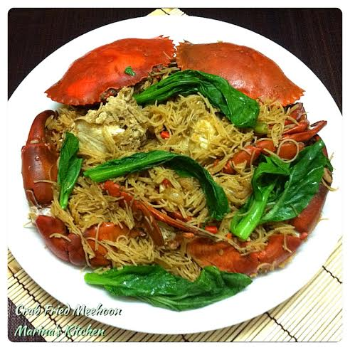 Crab Fried Meehoon
