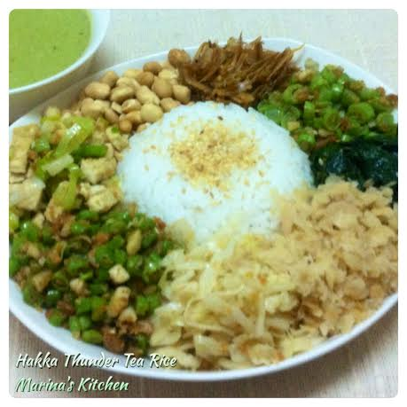 Hakka Thunder Tea Rice