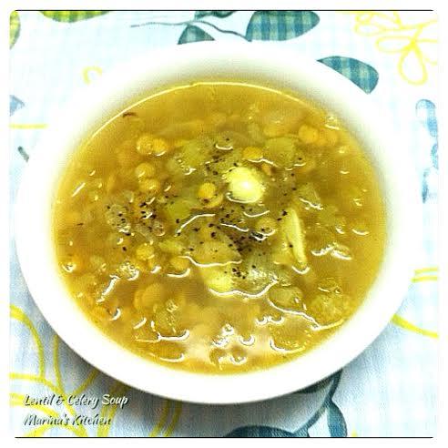 Lentil & Celery Soup