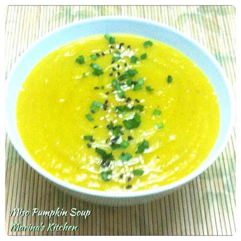Miso Pumpkin Soup