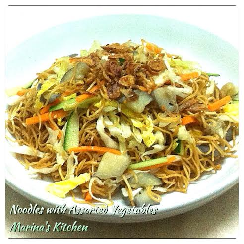 Noodles with Assorted Vegetables