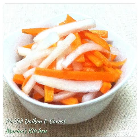 Pickled Daikon & Carrot