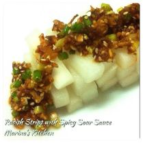 https://marinaohkitchen.wordpress.com/2014/04/24/radish-strips-with-spicy-sour-sauce/