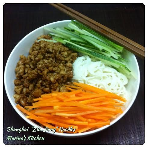 Shanghai Zha Jiang Noodles