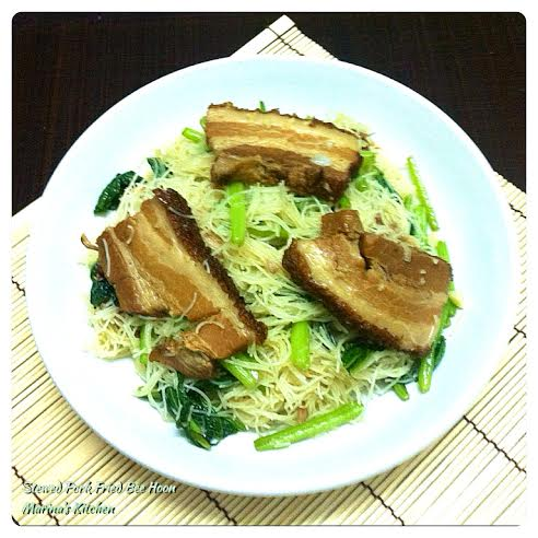 Stewed Pork Fried Bee Hoon