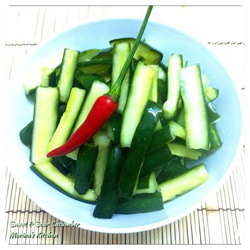 Sweet & Sour Cucumber
