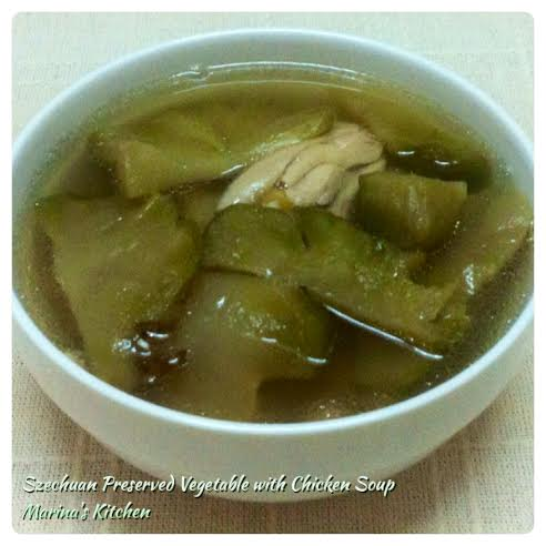 Szechuan Preserved Vegetable with Chicken Soup