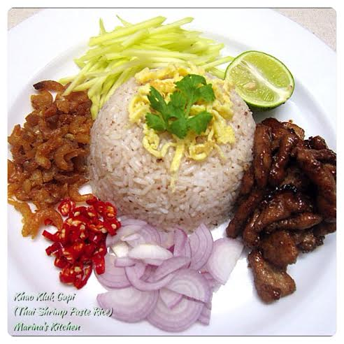 Thai Shrimp Paste Rice