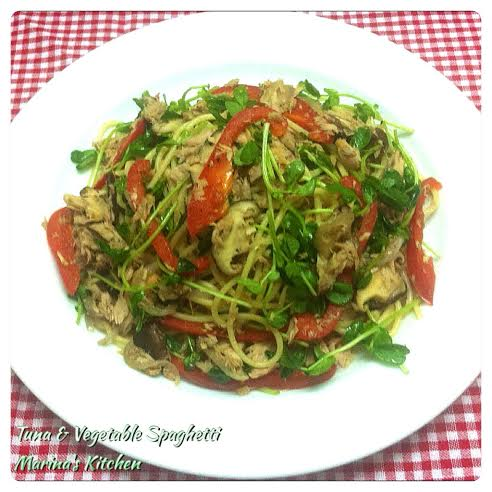 Tuna & Vegetable Spaghetti