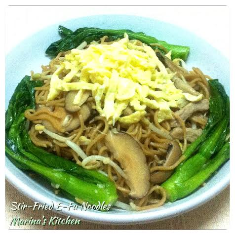 Stir-Fried E-Fu Noodles