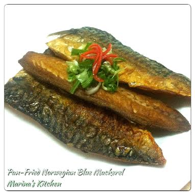 Pan-Fried Norwegian Blue Mackerel