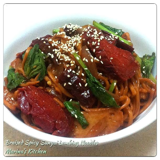 Braised Spicy Sungai Lembing Noodles