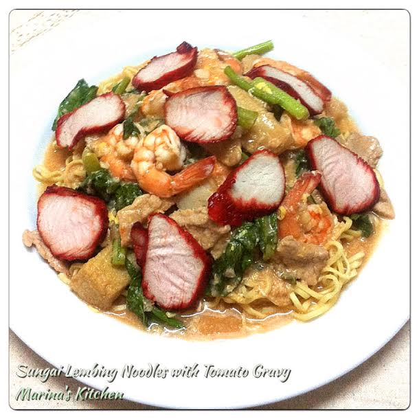 Sungai Lembing Noodles with Tomato Gravy