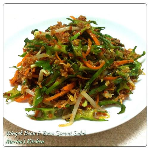 Winged Bean & Bean Sprout Salad