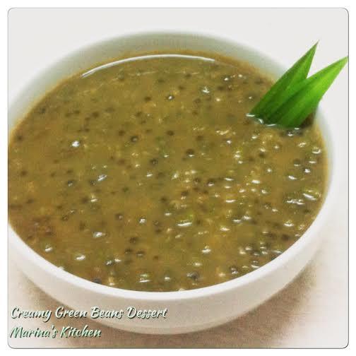 Creamy Green Beans Dessert