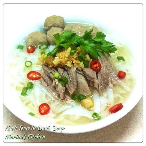 Kueh Teow in Duck Soup