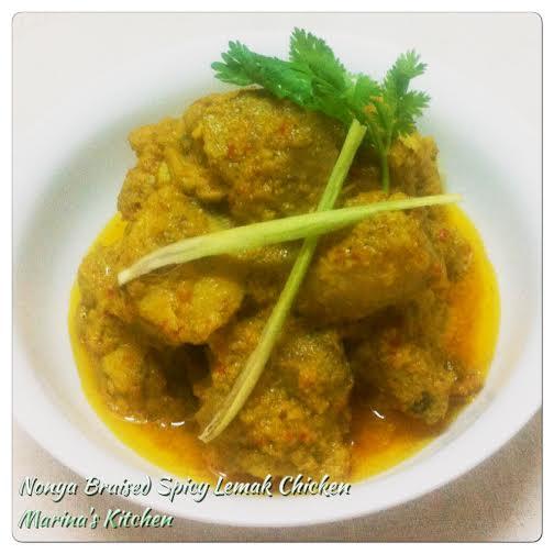 Nonya Braised Spicy Lemak Chicken