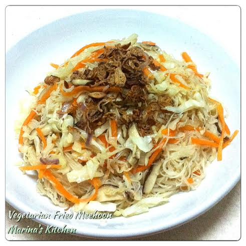Vegetarian Fried Meehoon
