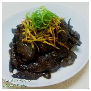 Pan-Fried Pig Liver