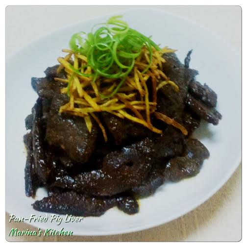 Pan-Fried Pig Liver