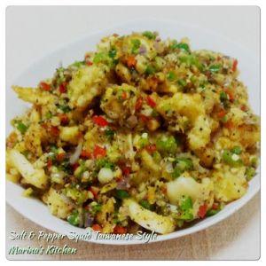 Salt & Pepper Squid Taiwanese Style