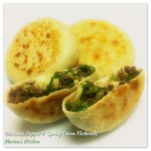 Taiwanese Pepper & Spring Onion Flatbreads