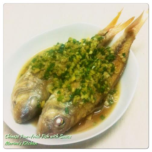 Chinese Pan-Fried Fish with Sauce