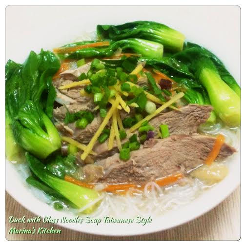 Duck with Glass Noodles Soup Taiwanese Style