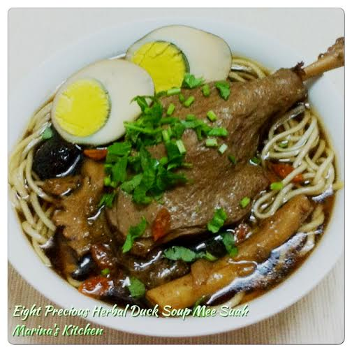 Eight Precious Herbal Duck Soup Mee Suah
