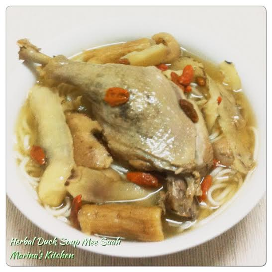 Herbal Duck Soup Mee Suah