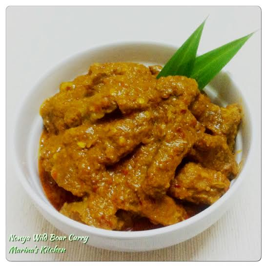 Nonya Wild Boar Curry