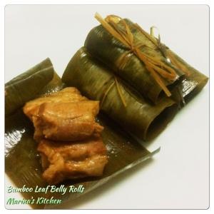Bamboo Leaf Belly Rolls