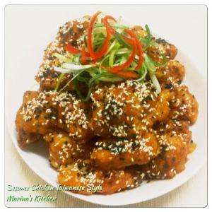 Sesame Chicken Taiwanese Style