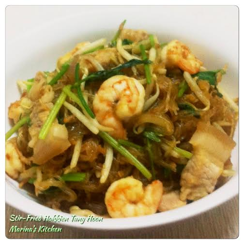 Stir-Fried Hokkien Tang Hoon