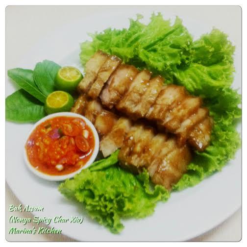 Bak Assam (Nonya Spicy Char Xiu)