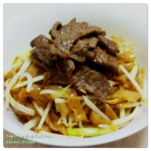 Dry-Fried Beef Kueh Teow