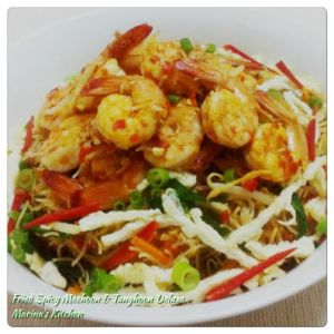 Fried Spicy Meehoon & Tunghoon Deluxe