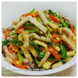 Stir-Fried Assorted Vegetables Hakka Style
