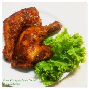 Baked Portuguese Sauce Chicken